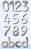 Hausnummern groß