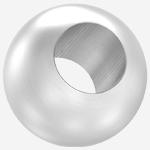 Edelstahl-Vollkugeln mit Durchgangsbohrung