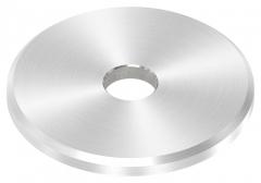 Beilagescheibe, Durchmesser ø 40mm, Stärke 3mm, mit Bohrung 8,5mm in V2A