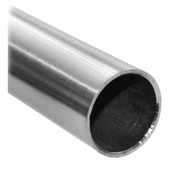 Rohr ø 33,7 x 2,6mm, Länge: 3000mm, aus V4A Edelstahl geschliffen