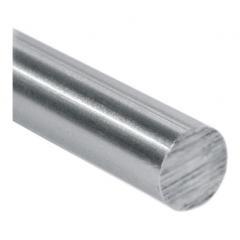 Stab ø 14mm, Länge: 3000mm, aus V2A Edelstahl geschliffen