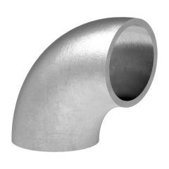 90° Bogen zum Anschweißen, für Rohr ø 26,9mm, Wandstärke 2,0mm, ungeschliffen