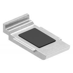 Sicherungsboden für Glasklemme Modell 39, in V4A