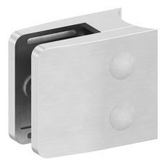 Glasklemme Modell 14, Anschluss für ø 42,4mm Rohr, V2A für 10,76mm Glas
