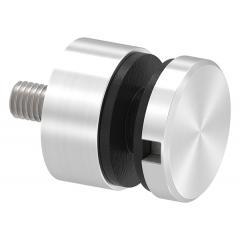 Glas-Punkthalter ø 30mm für Glas 6,0-12,76mm, flacher Anschluss, V4A