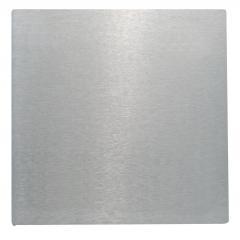 Ankerplatte 100 x 100mm, Stärke 4mm, einseitig geschliffen