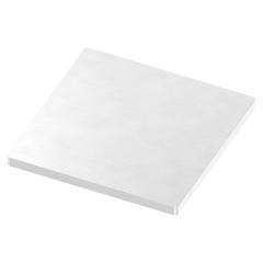 Ankerplatte 100 x 100mm, Stärke 6mm, einseitig geschliffen