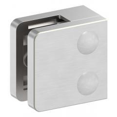 Glasklemme Modell 31, mit AbZ, flacher Anschluss, V2A für 10,00mm Glas