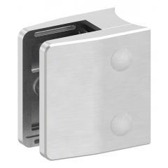 Glasklemme Modell 35, mit AbZ, Anschluss für ø 60,3mm Rohr, V2A für 12,00mm Glas