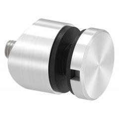 Glas-Punkthalter ø 30mm für Glas 6,0-12,76mm, Anschluss ø 42,4mm, V4A