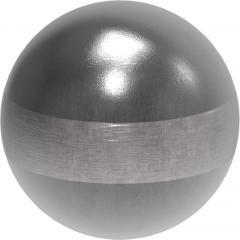 Stahl-Hohlkugel 80mm, Wandstärke 2,0mm, ohne Bohrung