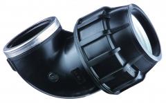 PP Winkelkupplung IG 90 Grad, 25mm x 3/4 Zoll